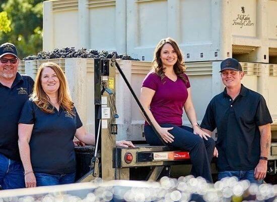 The McKahn Family. Pictured from left to right: Kevin McKahn, Denise McKahn, Brittany McKahn
