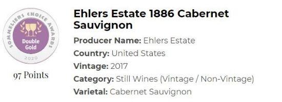 Ehlers Estate 1886 Cabernet Sauvignon