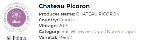 Chateau Picoron 2016
