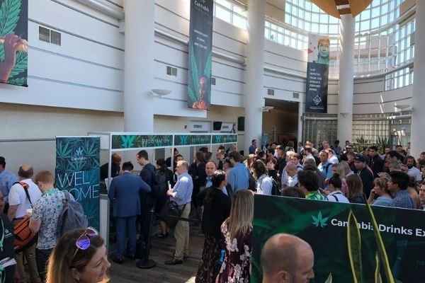 First edition of the Cannabis Drinks Expo was a packed event in San Francisco