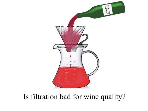 red wine quality and filtration