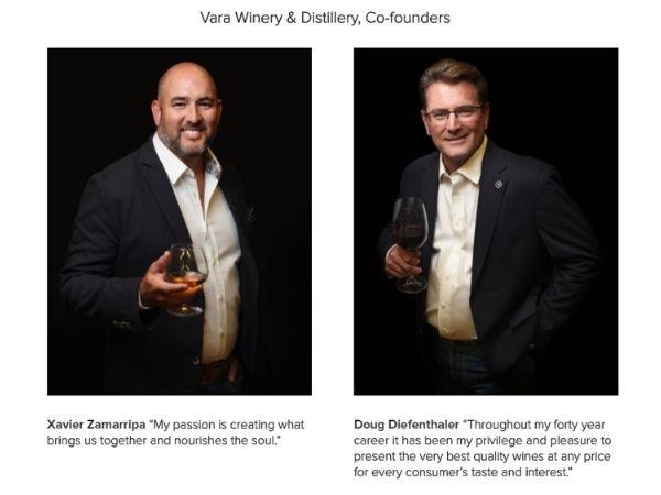 Vara Winery & Distillery Cofounders