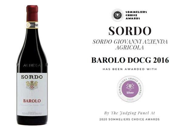 Winning 89 points and a silver medal at the 2020 Sommeliers Choice Awards.