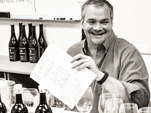 Tolosa partner and consulting winemaker Jean Hoefliger