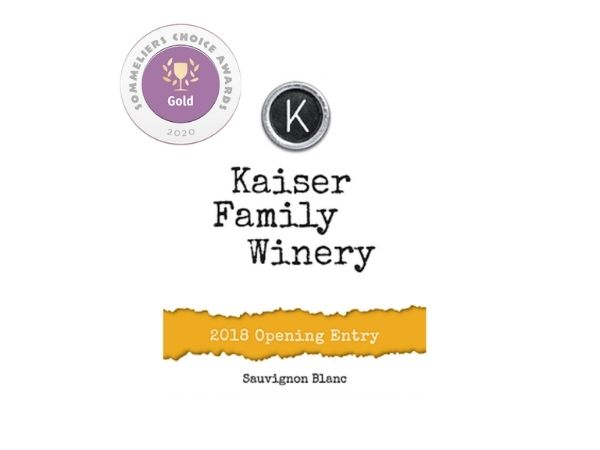 Their 2018 Sauvignon Blanc won a Gold Medal and was awarded 93 points at the 2020 Sommeliers Choice Awards