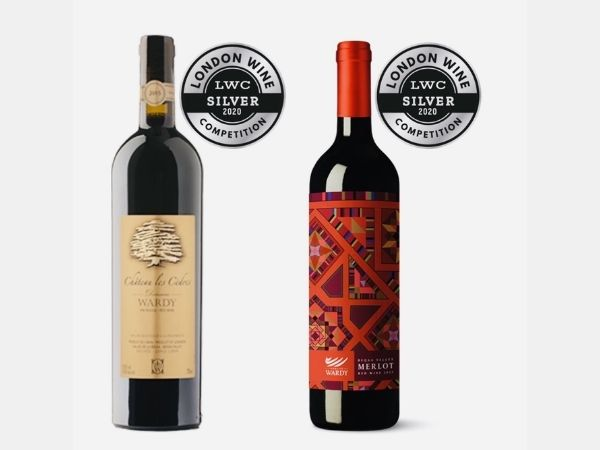 Winning silver medal at the 2020 London Wine Competitions