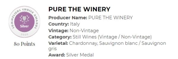 Pure the winery White