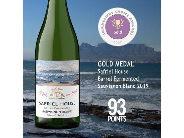 Safriel House Stellenbosch Barrel Fermented Sauvignon Blanc