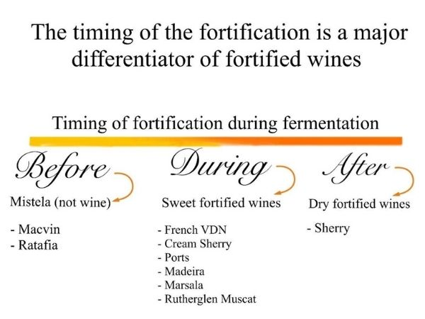 Fortified winemaking