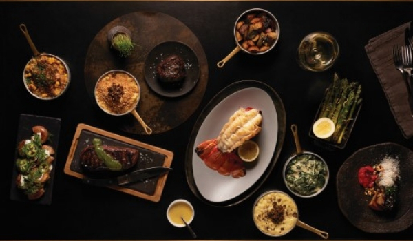 Jean-Georges Steakhouse-Culinary Assortment Credit Scott Chebegia