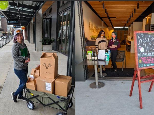 wine delivery pics