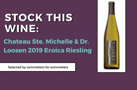 Photo for: Stock This Wine: Chateau Ste. Michelle & Dr. Loosen 2019 Eroica Riesling