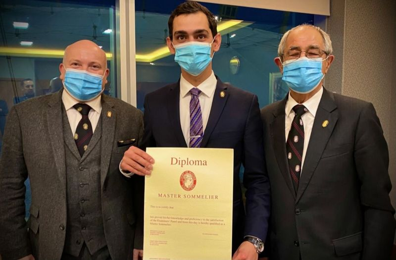 Photo for: Matteo Montone MS: Becoming a Master Sommelier in the midst of a global pandemic