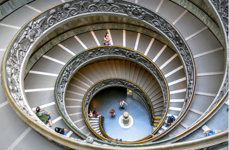 Photo for: Spirals Go Up and Down- Making A Virtue Of Margin Strategy