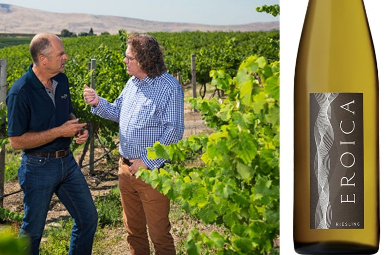 Photo for: 2019 Chateau Ste. Michelle & Dr. Loosen Eroica Riesling Wins Best Wine Of The Year
