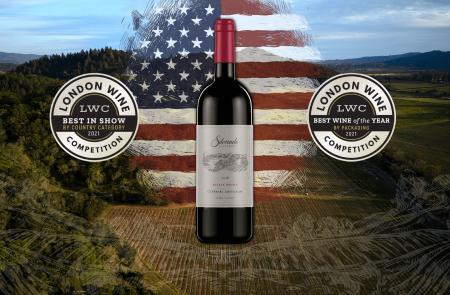 Photo for: Silverado Vineyards' 2018 Estate  Grown Cabernet Sauvignon Wins Best Package