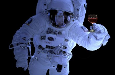 Photo for: Red Wine Beneficial for Astronauts On Mars