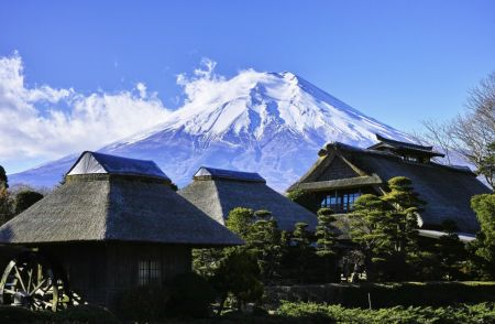 Photo for: Japan is Producing Remarkable White Wines in the Silhouette of Mount Fuji