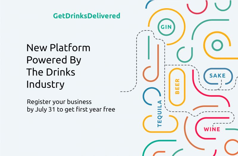 Photo for: Alcohol Delivery Support Platform Powered By Drinks Industry